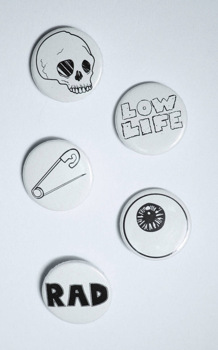 Dirtbag Badge Collection by Elerrina