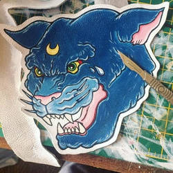Sailor moon sew-on patch by Elerrina