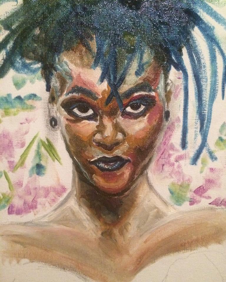 Oil Sketch by Elerrina