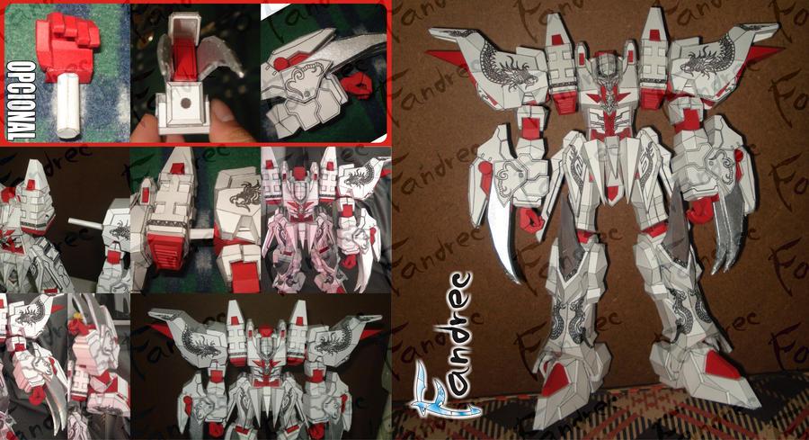 White_Dragon_poniendo_Brazos by Fandrec