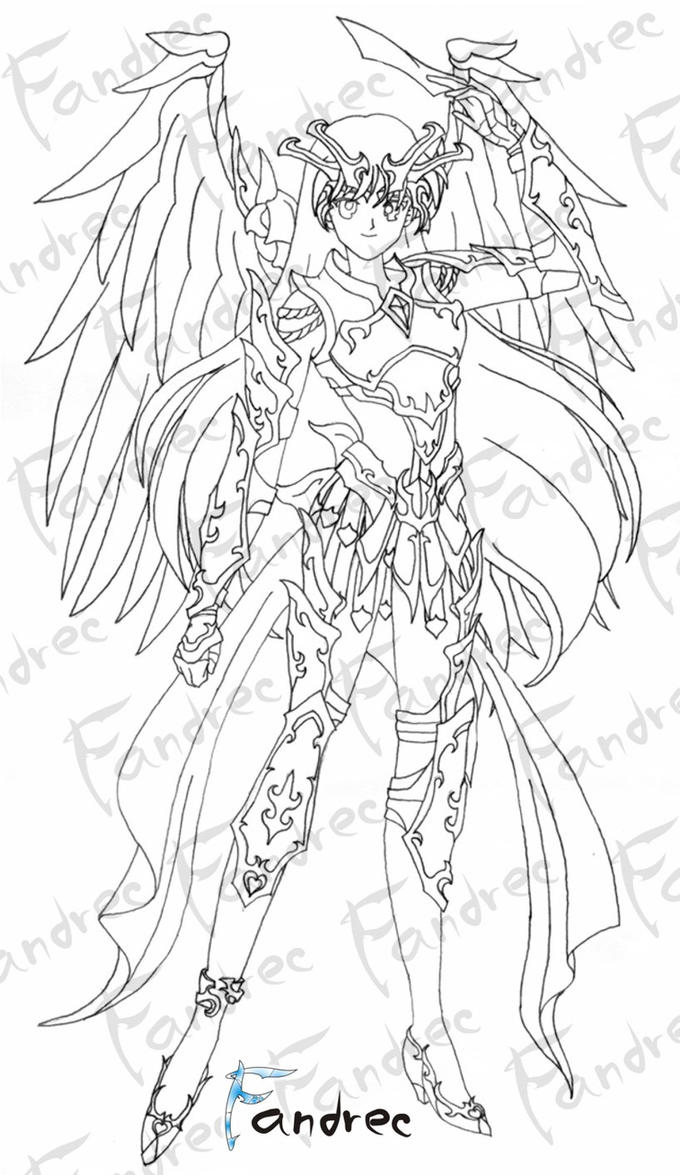 Sailor Mars Armor Soul by Fandrec