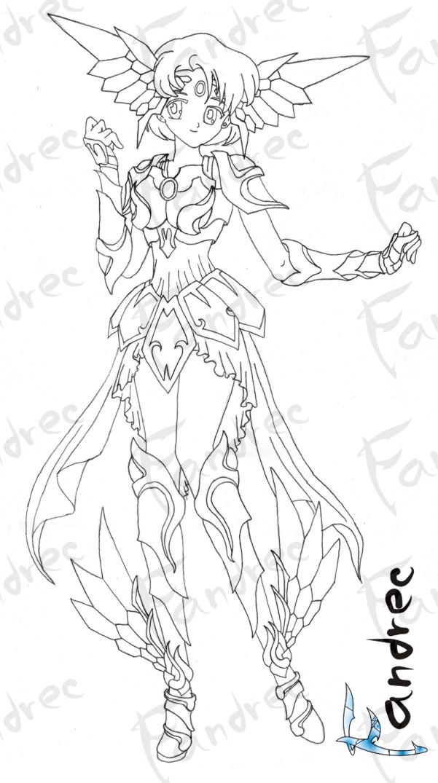 Sailor Mercury Armor Soul by Fandrec