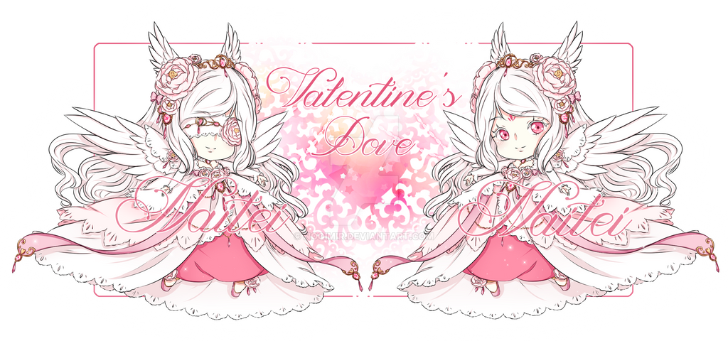 -Doreima Adopt{Closed}Valentine's Dove by Naitei