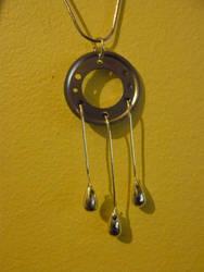 Hard drive pendant by Alloronan
