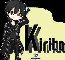.:Kirito-kun:. by 12MidnightLuna12