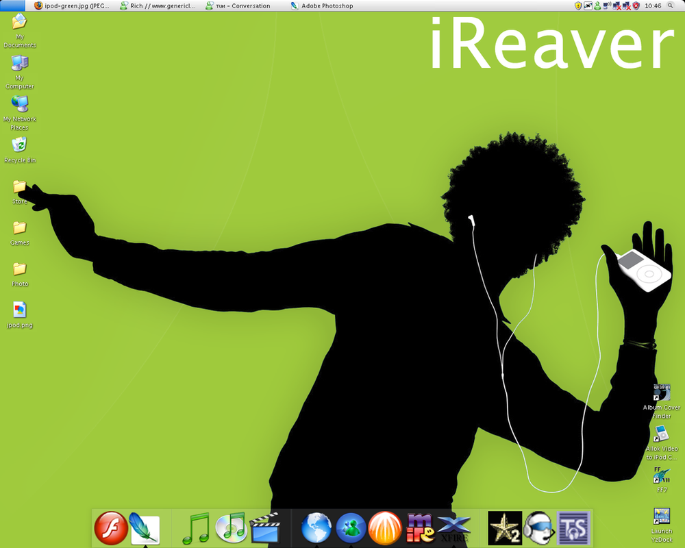 Desktop by jreaver