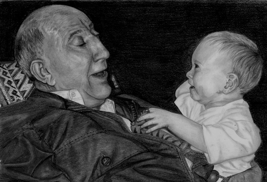Grampy and Kieran for PPA comp by Dragonsanddaffodils