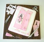 Card making enthusiast cake