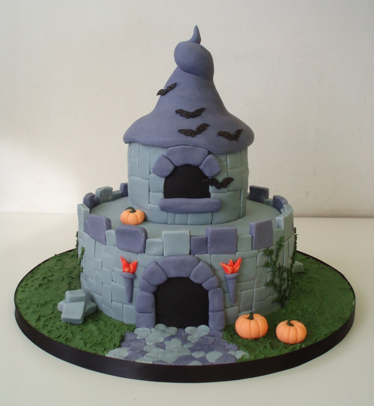 Haunted Fairy castle cake