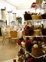 Chocolate desserts for wedding by Dragonsanddaffodils