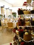 Chocolate desserts for wedding