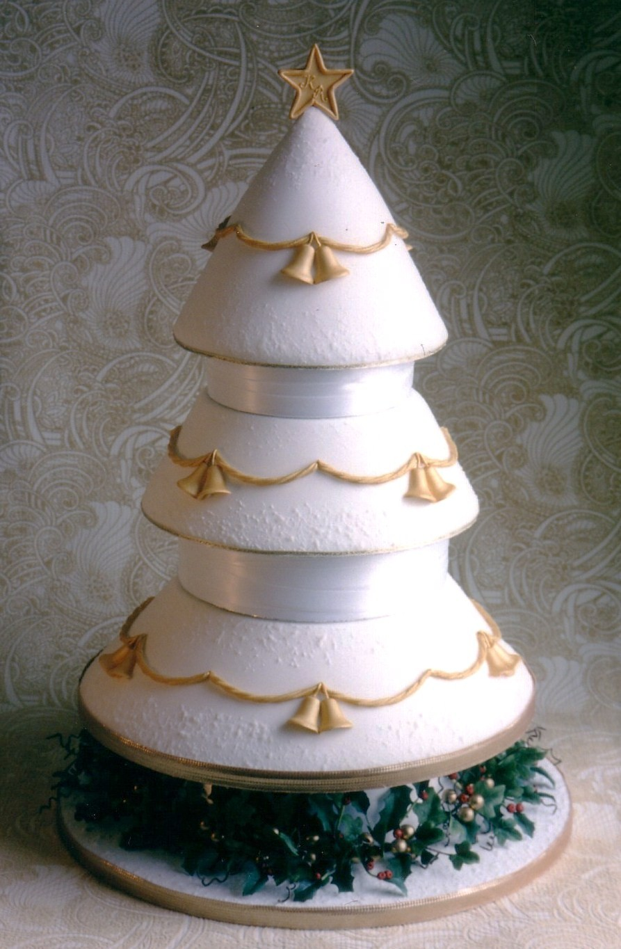 christmas wedding cakes photos picture