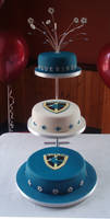 Cardiff Bluebirds cake