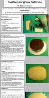 Marzipanning a fruit cake