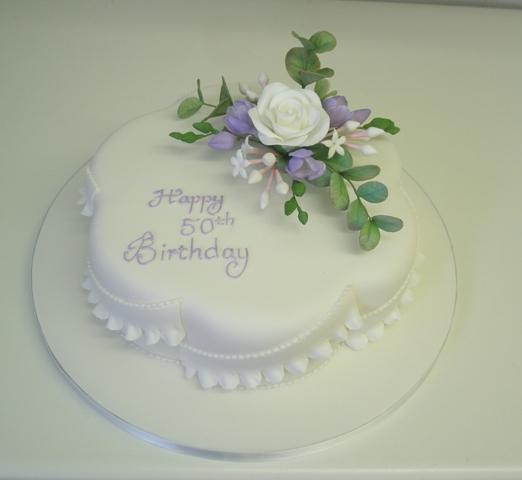 Traditional birthday cake by Dragonsanddaffodils on DeviantArt
