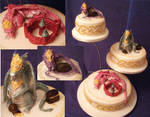 Celti Dragons Cake