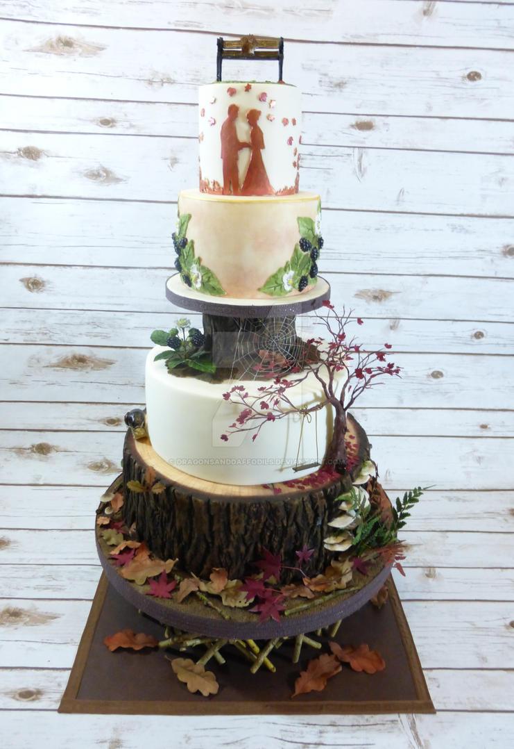 Woodland Cake by Dragonsanddaffodils