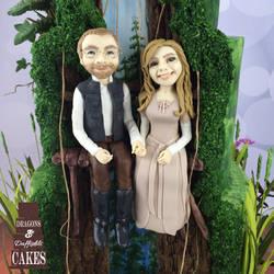 Star Wars Wedding cake models