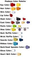 Piedmon Color Palette