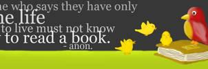 Lit. Week Bookmark 2008 by patronus4000