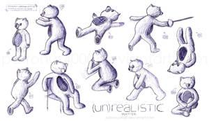 Character Study - Bear by patronus4000