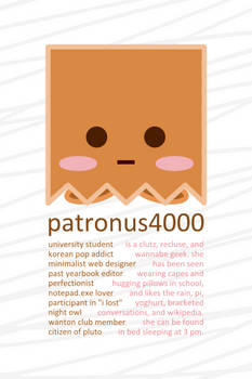 deviantID summer 2009 by patronus4000
