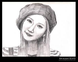 Kim So Eun by patronus4000