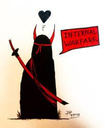 Internal warfare by ScattyMisfit