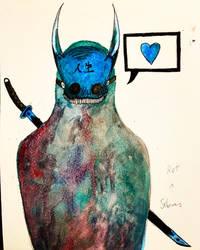 Blue Oni by ScattyMisfit