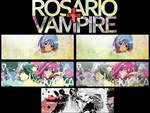 Rosario+Vampire Tag Wall