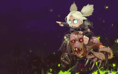 Calabim - Gnome Death Knight by Malakym