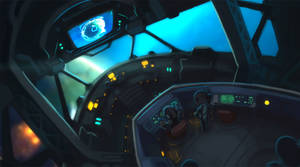 Skylark Interior by Malakym