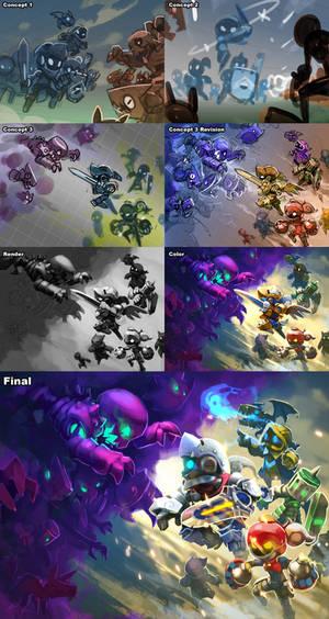 Spiral Knights: Splash Development