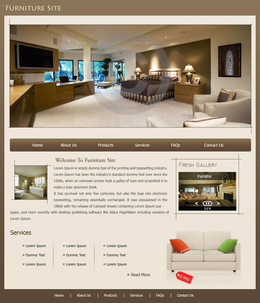 Furniture Site by juneja 23ravi on deviantART