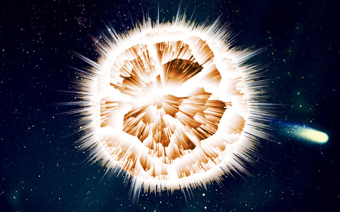 exploding planet by arrrgmatey00 on DeviantArt