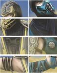 Sub-Zero VS Scorpion -Details-