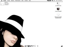 Hat girl desktop by juyle