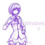Sketch: Windows 7 OS-tan
