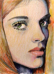 Girl Portrait by EstebanCandia