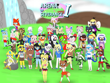 Arena of Severance I - Cast Group Pic