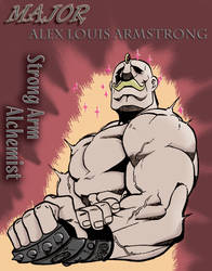 FMA Poster - Major Armstrong