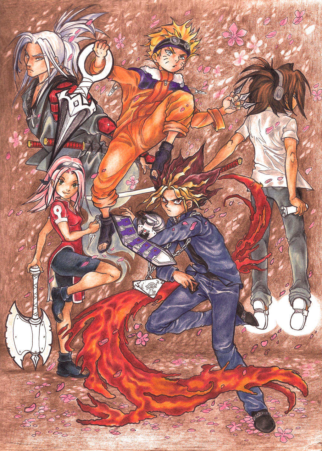 Manga Super Six 1 (2006) by La-Nora