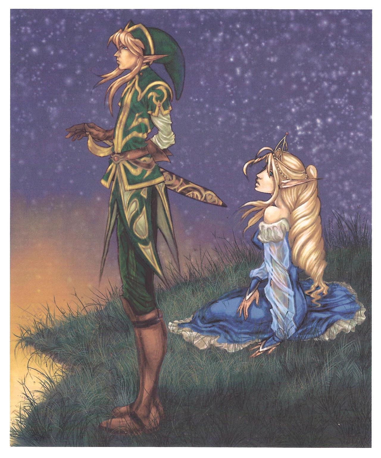 Zelda Forever Descargar Link And Zelda Forever By Beauregardtjangles Dojlx