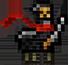 Ninja Llama (3D Pixel) by DCatz