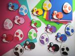 Yoshi Pins/Magnets