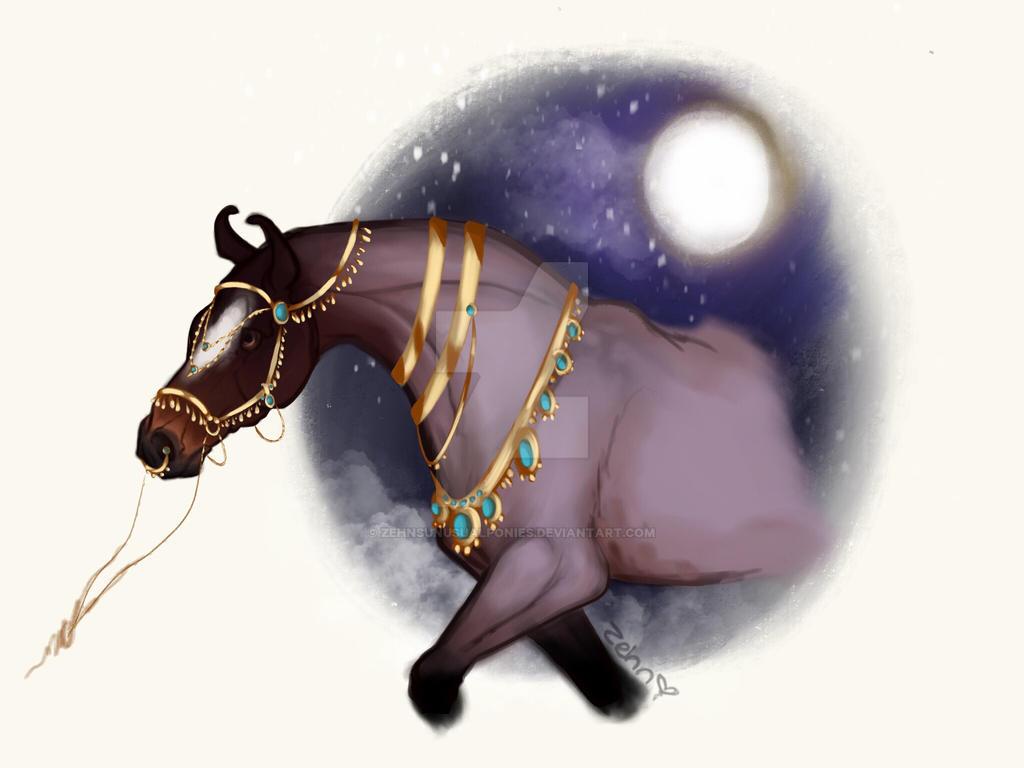 A Marwari Prince by ZehnsUnusualPonies