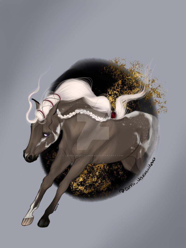 Katana -the dragon queen by ZehnsUnusualPonies
