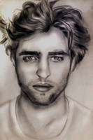 Robert Pattinson..again by justaye