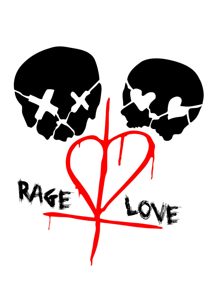 green day 39 rage and love 39 tattoo design by shaunwillz on deviantart. Black Bedroom Furniture Sets. Home Design Ideas