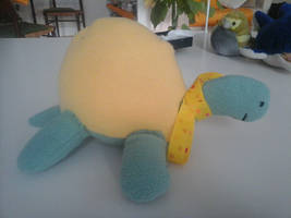 Cute little yellow turtle :3